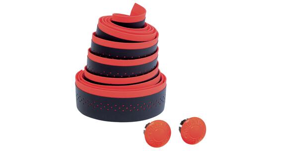 Cinelli Fluo - Ruban de cintre - rouge/noir